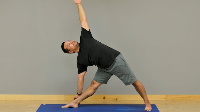30 Day Challenge: Day 5 Triangle Pose