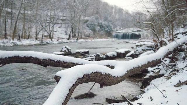 Winter Slow Moments: Cataract Falls