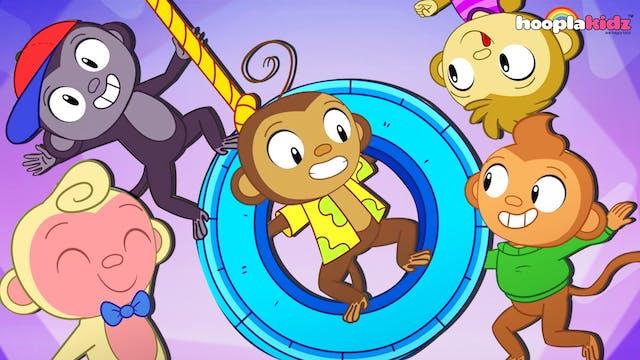 HooplaKidz - Five little monkeys