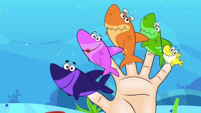 Shark Finger Family with Annie And Ben