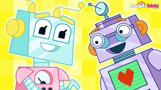 HooplaKidz -Robot Finger Family