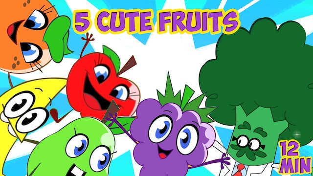 Movie Of The Day - Five Cute Fruits