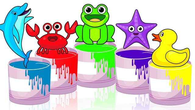 Learn Colors with Rainbow Buckets