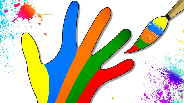 Learn Colors With Finger Family Song