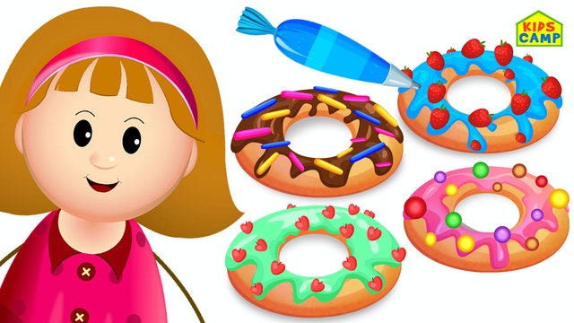 KidsCamp - Let's Make A Donut With Elly