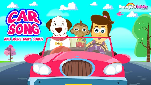 HooplaKidz - Car Song And More Baby S...