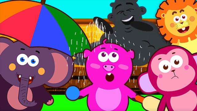Rain Rain Go Away With Tim, Leo, Pego And Elphie