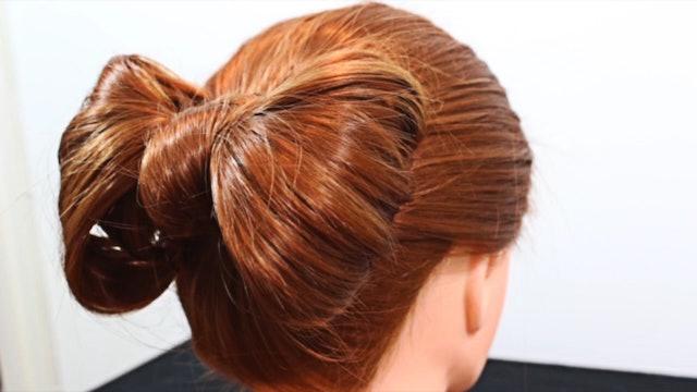 Hair Bow With Your Hair