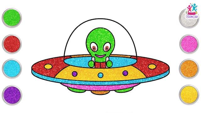 Chiki Art - Alien Ufo
