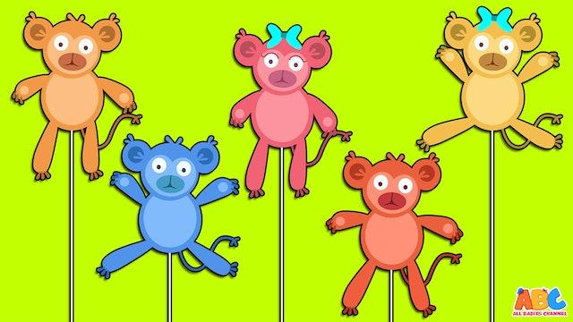 Five Little Monkeys - Puppets Version