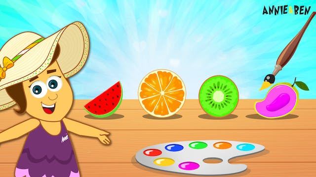 Annie And Ben - Slice Fruits Colors