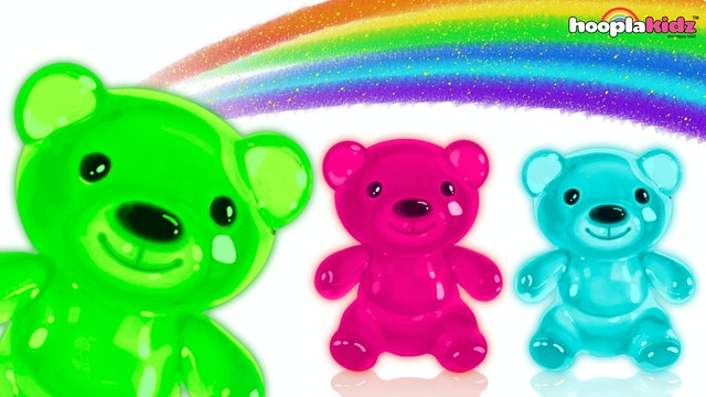 Gummy Bear Finger Family