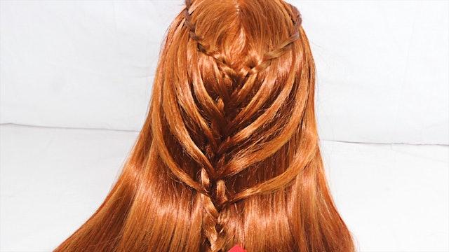 Waterfall Twists Into Mermaid Braid