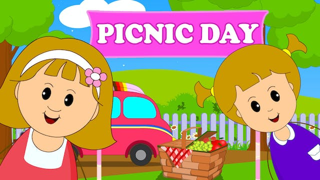 Elly And Eva's Picnic Day