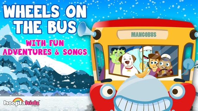 Wheels On The Bus With Fun Adventures And Songs