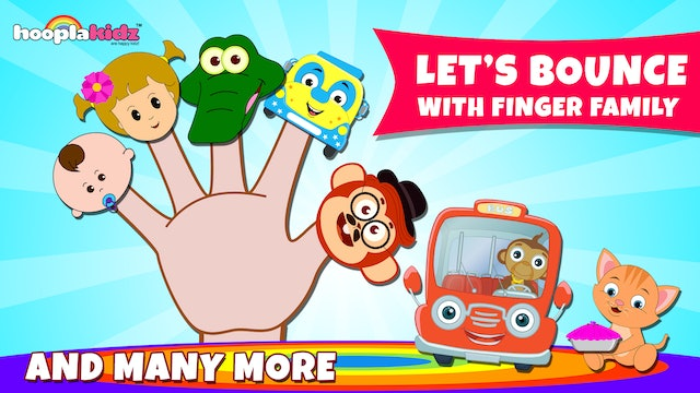 Let's Bounce With Finger Family