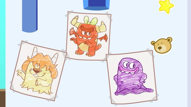 Learn Colors With Monster Painting