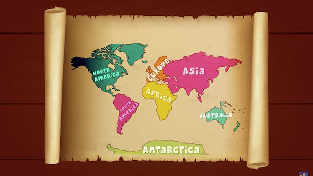 Learn Continents And Animals With Ann...