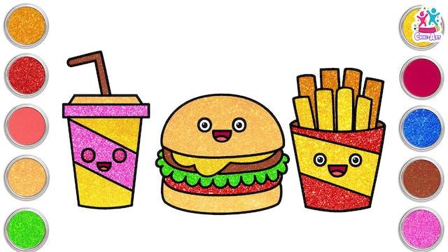 Chiki Art - Burger Meal