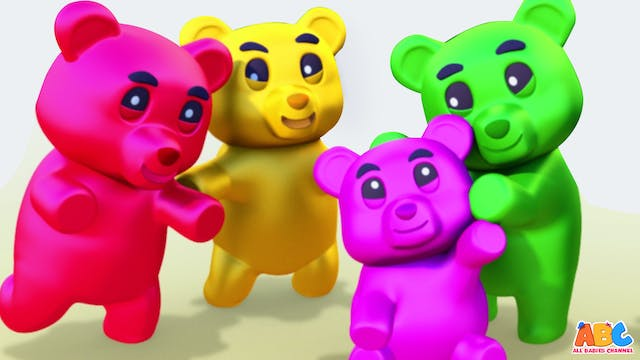 Gummy Bear Finger Family