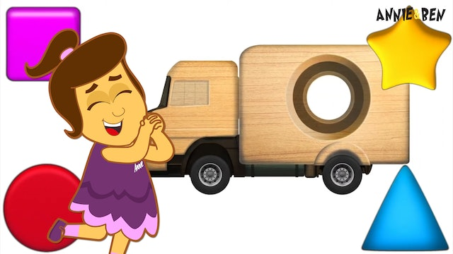 Annie & Ben - Learn Shapes With The Wooden Truck