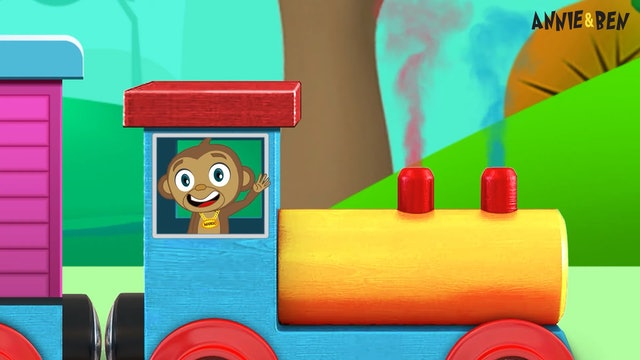 Annie And Ben - Learn Shapes With Annie & Ben Train