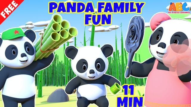 Movie Of The Day - Panda Family Fun