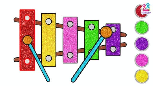 Chiki Art -Glitter Xylophone