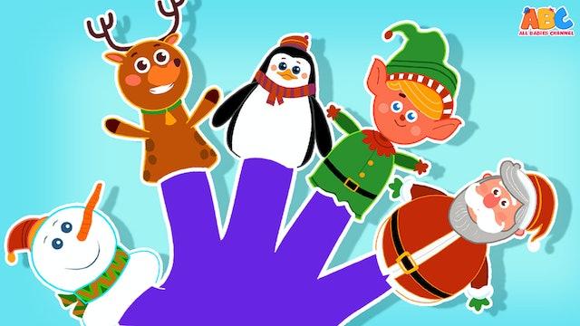 Winter Finger Family