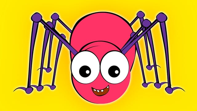 Incy Wincy Spider Pink