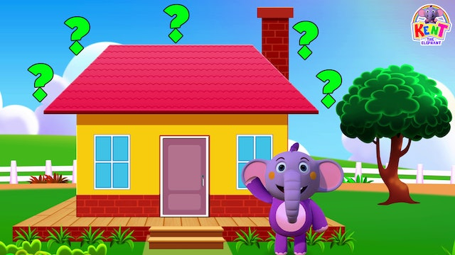 Kent the Elephant - Build the house with Kent