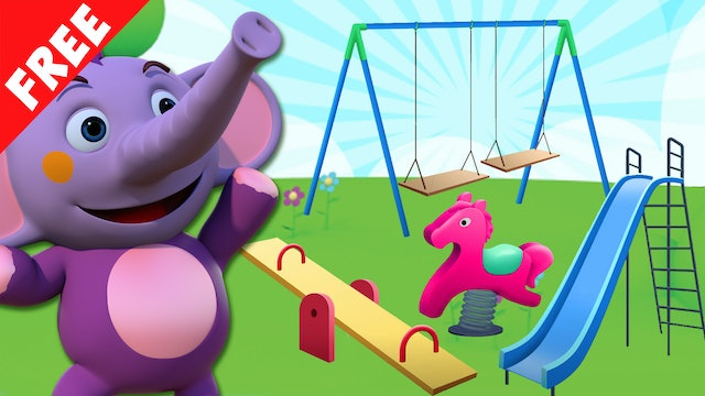 Kent The Elephant - All we find on a playground
