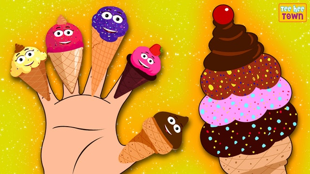Ice Cream Finger Family Song