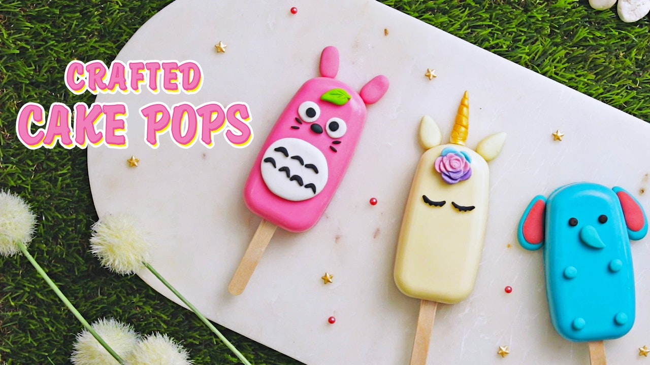 Crafted Cake Pops