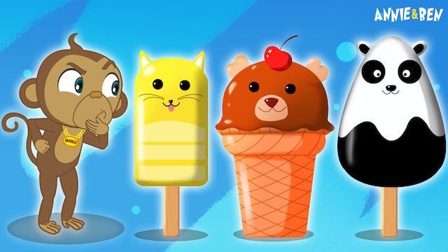 Annie And Ben - Mango Animal Ice Cream