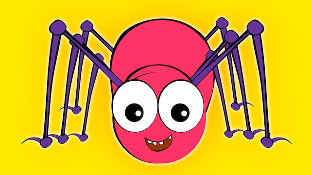 Incy Wincy Spider - Elly With Pink Spider