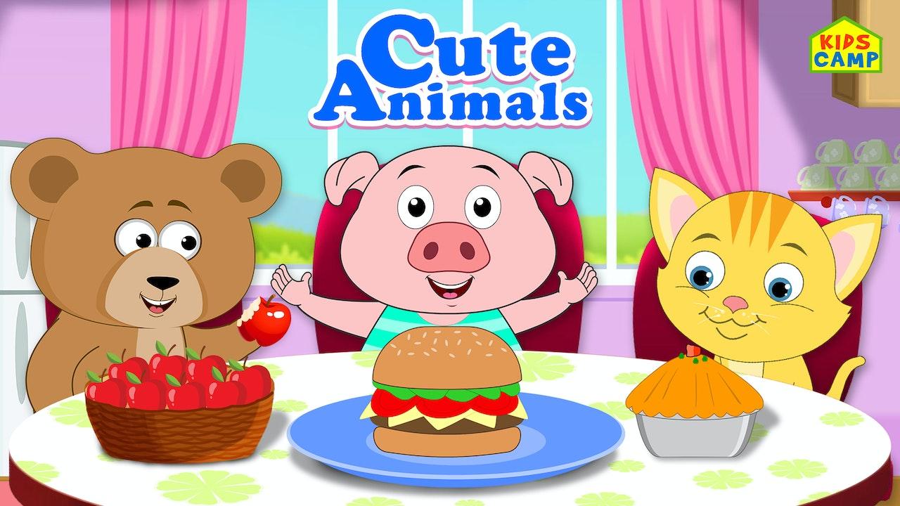 Cute Animals Nursery Rhyme Time