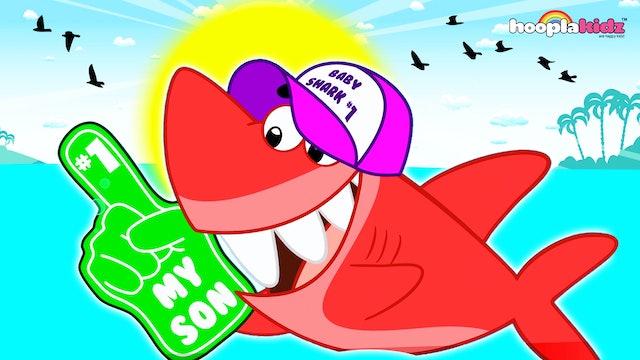 HooplaKidz - Shark family song