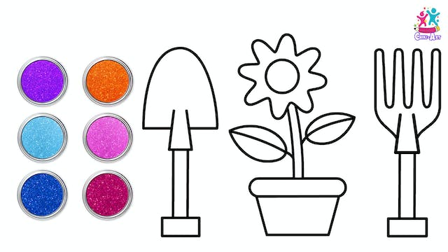 Chiki Art - Plant And Gardening Tools