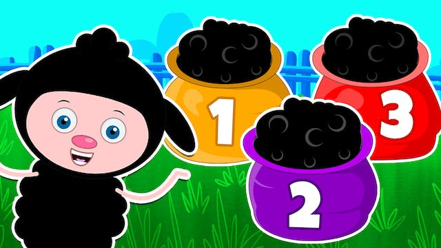 Baa Baa Black Sheep (Three Colored Sh...