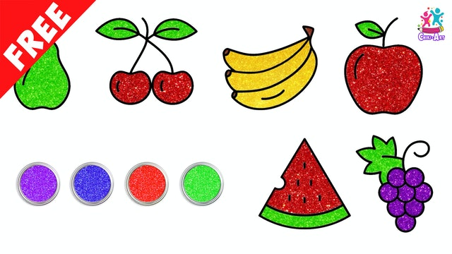 Chiki Art - Learn How to Draw Fruits