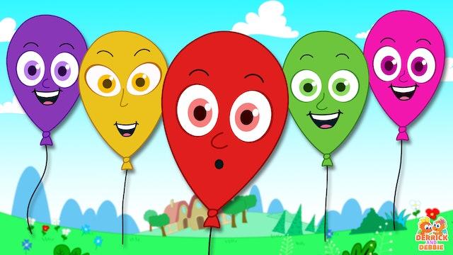 Balloon Finger Family Song