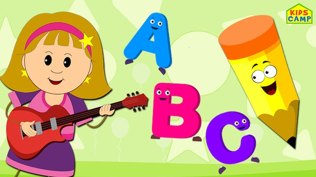 KidsCamp - ABC Song with Guitar