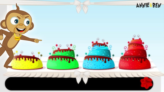 Annie And Ben - Learn Colors With Xylophone Cakes