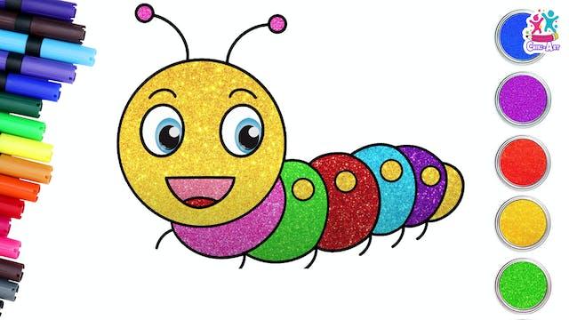 Chiki Art - Caterpillar