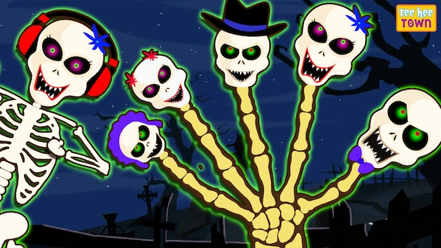 Teehee Town - Skeleton Finger Family