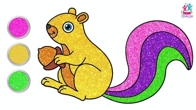 Chiki Art - Squirrel