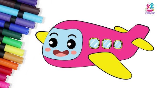 Chiki Art - Plane