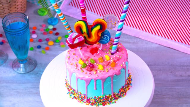 Decorative Candy Cake