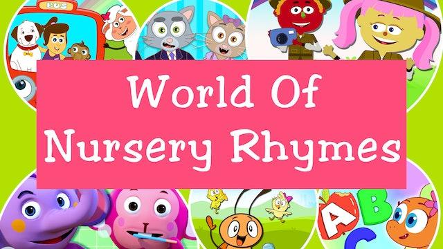 WORLD OF NURSERY RHYMES (80 Videos)